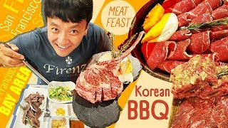 Korean BBQ MEAT FEAST, Dim Sum Brunch & YouTuber Basketball in Bay Area