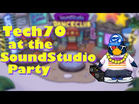 Tech70 at the SoundStudio Party: Club Penguin Comedy Video #1