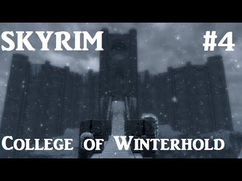 Elder Scrolls Skyrim: College of Winterhold Walkthrough - Part 4