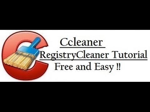 Ccleaner - Registry Cleaner Tutorial [Updated] - Free and Easy