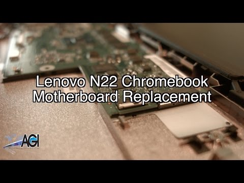 Lenovo N22 Chromebook Motherboard Replacement