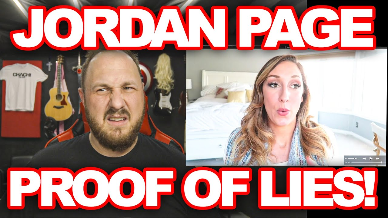 JORDAN PAGE CAUGHT IN LIES    DID SHE MAKE UP THIS STORY TO SCORE MONEY?