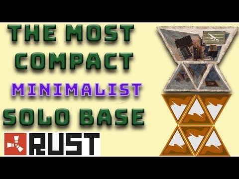 Most Compact Cheap Solo Base I Rust Base Design I Build 3.2
