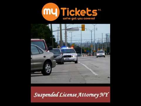 Suspended License Attorney NY