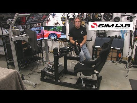 Sim Lab GT1 EVO Cockpit Review Part 2 The Setup,KHDBV