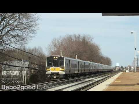 LIRR Train Action: 2 Hours at Bellerose, NY RR with NY & Atlantic RR