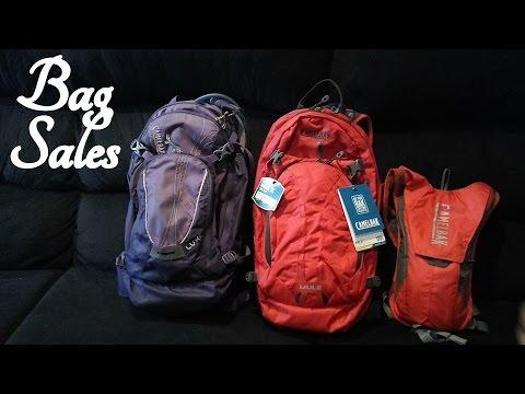 ASMR Bag Sales Role Play (Camelbak)