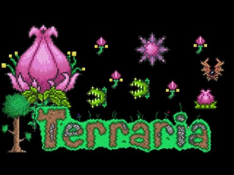 Terraria Spawning and Defeating Plantera Tutorial