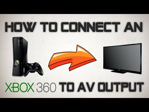 HOW TO CONNECT XBOX 360 TO YOUR TV! Without an HDMI Cable