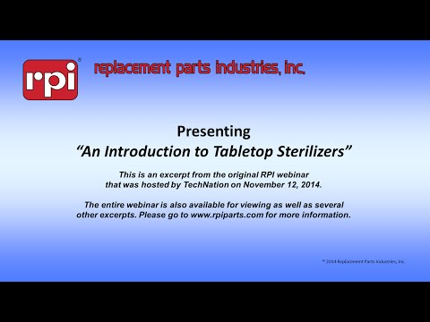 An Introduction to Tabletop Sterilizers
