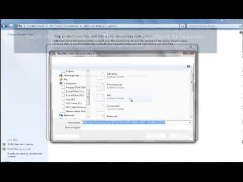 How to lock pendrive without any software