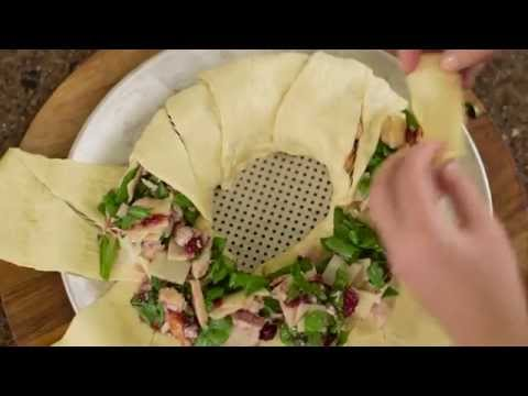 How To Make Cranberry Turkey Crescent Ring