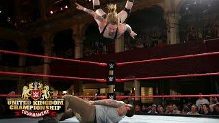 The 255-pound Wolfgang pulls off a massive moonsault: WWE United Kingdom Championship Tournament
