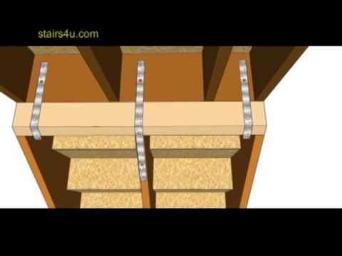How To Repair Upper Stair Stringers Hanging below Floor Framing Headout