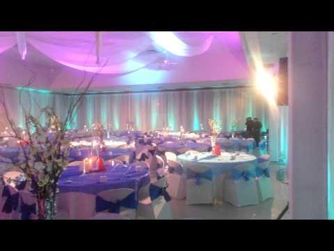 VA beach wedding lighting and sound