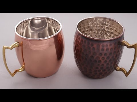 4pk Moscow Mule Mugs - Solid Copper by Old Dutch