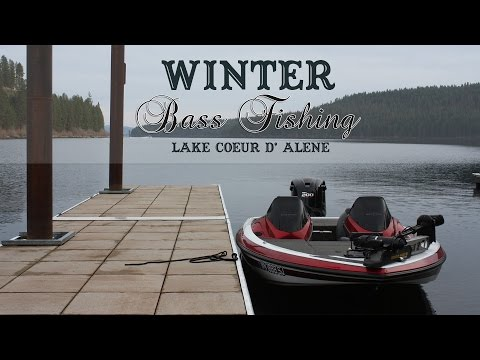 Winter Smallmouth Bass Fishing [Lake Coeur d' Alene, Idaho]