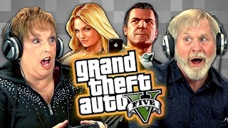 Elders Play Grand Theft Auto V (Elders React: Gaming)