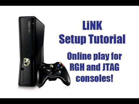 LiNK Setup Tutorial (JTAG & RGH Online Multiplayer!)