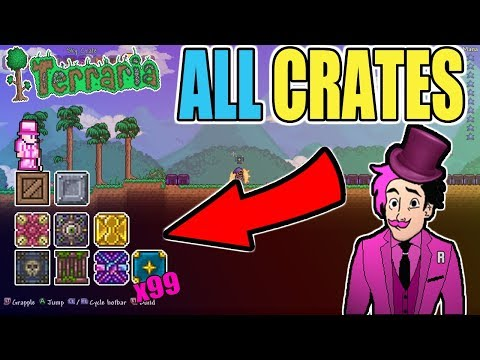 HUNDREDS OF HOURS OF FISHING! COMPARING ALL 1.3 CRATES (CHECK IT OUT)