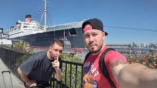 EXPLORING A HAUNTED SHIP (QUEEN MARY TOUR) (LIVESTREAM)