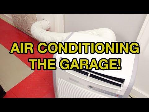 Garage AC Installation