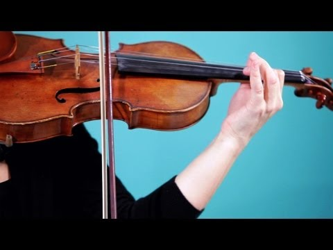 How to Play an E String | Violin Lessons