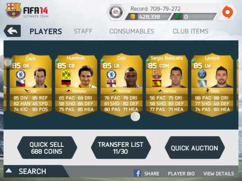 Fifa 14 ios tots,coin,players wagers