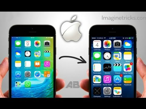 How to convert android phone into iOS #2