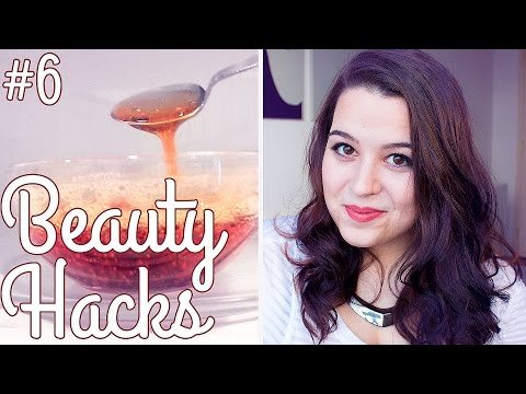 BEAUTY HACKS: Fail or Holy Grail? ♥ DIY Sugar Wax | Ellko
