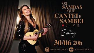 Live Os sambas que cantei e sambei