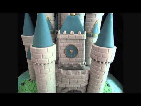 Disney Castle Cake Tutorial : With Characters