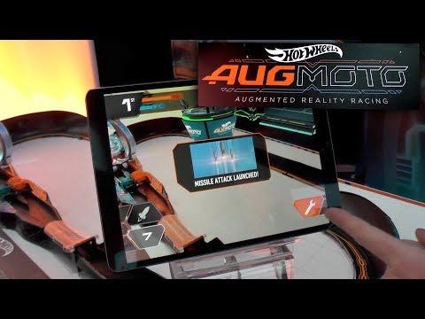 Hotwheels Augmoto - Augmented Reality Race App