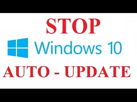 How to Prevent Windows 10 From Automatically Installing Updates