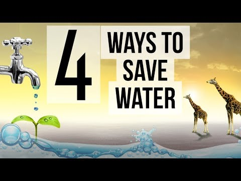 4 ways to conserve Water in India - Changing Policy, Infrastructure, Behavior & Data usage can do it
