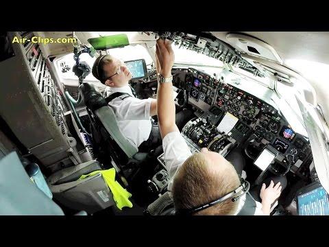 McDonnell Douglas MD-87 ULTIMATE COCKPIT VID: DAT Danish Air Transport [AirClips full flight series]