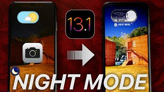 iOS 13 Night Mode - How it Works