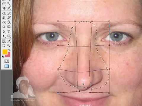 Ultimate Nose extreme makeover (Photoshop Tutorial part 1)