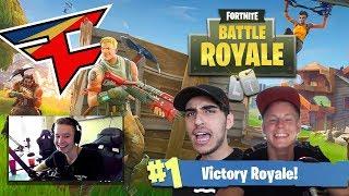 FaZe Gaming House vs FaZe Fortnite PRO Team!