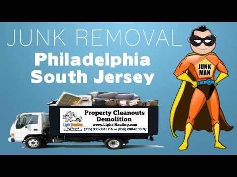 Junk Removal in Philadelphia, PA – (215) 933-3843 – Property Cleanouts Philadelphia South Jersey