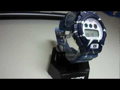 G Shock Custom Denim Blue My first test with rit dye