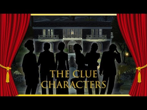 CREATING THE CHARACTERS FROM CLUE! | The Sims 4 *Spooky* CAS