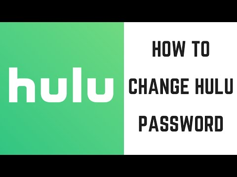 How to Change Hulu Password