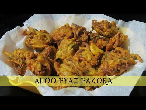 Aloo Pyaz Pakora Recipe | Bhajiya | Kachri | Monsoon Special