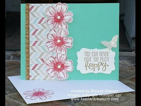Quick and Easy Floral Card