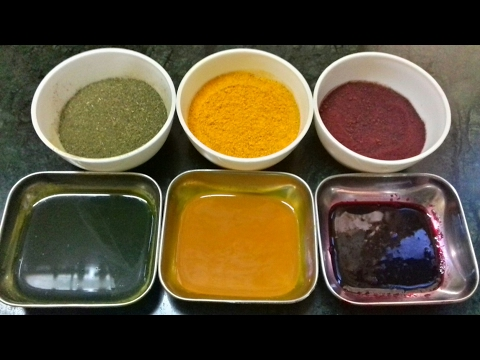 Homemade Herbal Food Color | Natural Food Colour | Food Color | Vegetable Food Color .