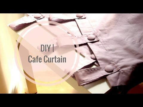 DIY   Cafe Curtain   Girl With The Afro
