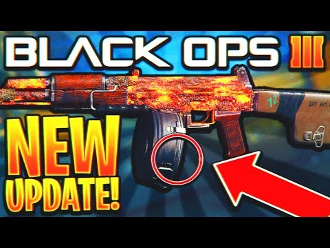 THE NEW BO3 UPDATE IS AMAZING 😍 but they are hiding something.. (Black Ops 3 New DLC Weapon Update)