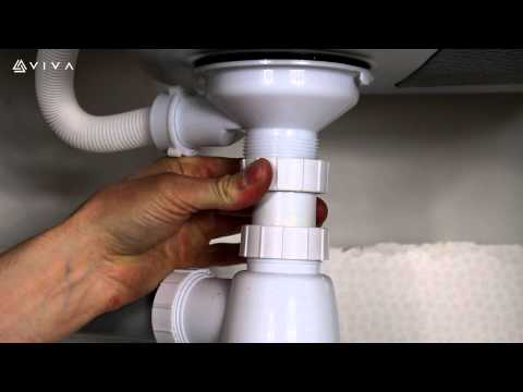 How to Install or Replace a Universal Telescopic Bottle Trap for a Bathroom Basin or Kitchen Sink