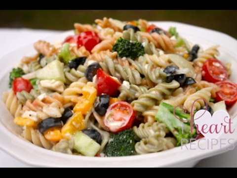 The BEST Creamy Italian Pasta Salad Recipe - I Heart Recipes